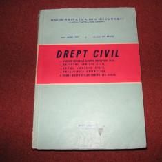 Drept civil - Aurel Pop, GH.Beleiu - Carte Drept civil