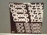 CHEAP TRICK - STOP THIS GAME/WHO...(1980/CBS/RFG) - Vinil Single pe '7/Impecabil