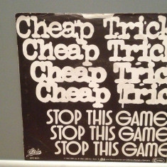 CHEAP TRICK - STOP THIS GAME/WHO...(1980/CBS/RFG) - Vinil Single pe '7/Impecabil, Epic rec