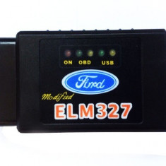 ForScan ELM327 Bluetooth Modificat Romana interfata tester diagnoza Ford Mazda