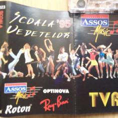 Scoala vedetelor 95 compilatie caseta audio muzica euro pop rock roton 1995, Casete audio