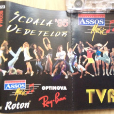 Scoala vedetelor 95 compilatie caseta audio muzica euro pop rock roton 1995 - Muzica Pop roton, Casete audio