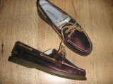 Pantofi dama SPERRY TOP SIDER originali noi piele grena superbi foarte comozi 36, Cu talpa joasa
