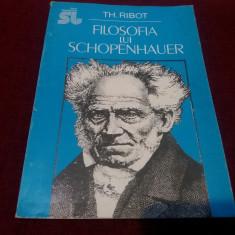 TH RIBOT - FILOSOFIA LUI SCHOPENHAUER