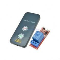 1 releu 5V 220v cu telecomanda infrarosu IR