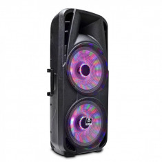 Boxa portabila karaoke BT iDance Groove 980 cu troler