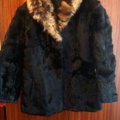 Haina din blana naturala de nurca marimea 38, este noua! - haina de blana