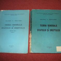 Teoria generala a statului si dreptului - Ioan Ceterchi, M. Luburici - 2 Vol. - Carte Teoria dreptului