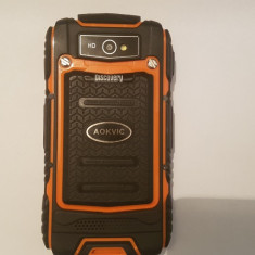 Smartphone Rugged Discovery V8 Rezistent la Praf Cazaturi ! - Telefon mobil Dual SIM, Negru, 4GB, Neblocat, Dual core, 512 MB