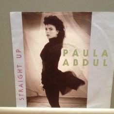PAULA ABDUL - STRAIGHT UP/COLD. (1988/VIRGIN/RFG) - Vinil Single pe '7/Impecabil - Muzica Pop virgin records