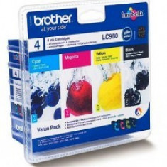 Cartus OEM Brother LC980VAL Pachet Cerneala Color 1080 pagini