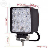 Proiector led 48w-proiector led auto OFFROAD -, Universal