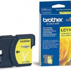 Cartus OEM Brother LC1100Y Yellow 325 pagini - Cartus imprimanta
