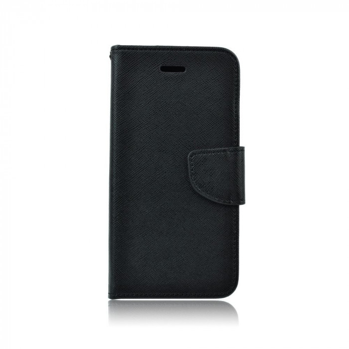 Husa Samsung Galaxy S6 Fancy Book Neagra foto mare