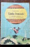 D - Manual limba franceza, clasa a V-a, anul VI de studiu, 1976