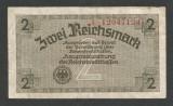 GERMANIA NAZISTA  2  MARCI MARK  1939 1940 1945  [6] Cu zvastica , P-R137b , VF+