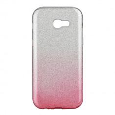 Husa Samsung Galaxy A5 2017 Forcell Shining Roz Transparenta
