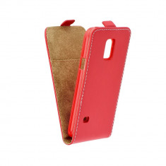 Husa Samsung Galaxy S5 Mini Flip Slim Flexi Fresh Rosie