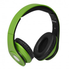 Casti Vakoss SK-378E Green, Casti Over Ear