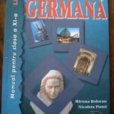 D - Manual limba germana, clasa a XI-a, L2, 2001, TEORA - Manual scolar, Clasa 11, Limbi straine
