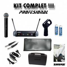 Microfon Profesional SHURE Beta 58A + Receiver PGX 4 MODEL 2018 KIT