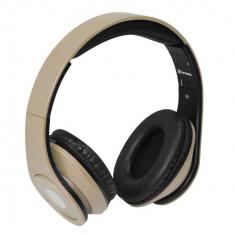 Casti Vakoss SK-378G Gold, Casti Over Ear