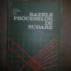 Furnizez in Constanta V. Miclosi – Bazele Proceselor de Sudare, 0723480007 - Curs Tehnica