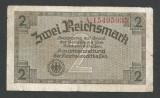 GERMANIA NAZISTA  2  MARCI MARK  1939 1940 1945  [16] Cu zvastica , P-R137b , F