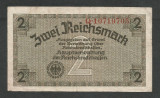GERMANIA NAZISTA  2  MARCI MARK 1939 1940 1945 [5] Cu zvastica ,  P-R137b  , VF+