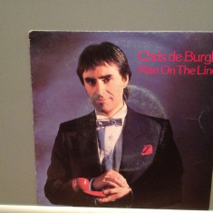 CHRIS DE BURGH - MAN ON THE LINE/TAKING.(1984/A & M/RFG) - Vinil Single pe '7/NM - Muzica Pop A&M rec