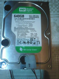 Hard-disk WD 640 GB-Green Sata2 5400 rpm 16MB+cooler nou 1025 zile 100% P15, 500-999 GB, Western Digital