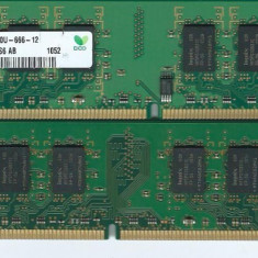 Kit Memorie PC 4 GB DDR2 (2 Buc. x 2 GB) 800mhz, PC2-6400 Testate P27, DDR 2, Dual channel