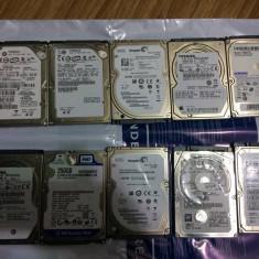 Lot 10x hdd laptop hard disk sata defecte 5x 320gb 3x 250gb 1x500gb 1x750gb