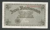 GERMANIA NAZISTA 2  MARCI MARK  1939 1940 1945  [3] Cu zvastica , P-R137b  , VF+