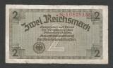 GERMANIA NAZISTA  2  MARCI MARK  1939 1940 1945  [14] Cu zvastica , P-R137b , F