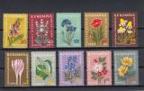 ROMANIA 1959  LP 485  PLANTE MEDICINALE  SERIE  MNH, Nestampilat