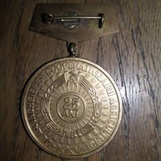 MEDALII, PERIOADA COMUNISTA, LOT DOUA BUCATI - Medalii Romania