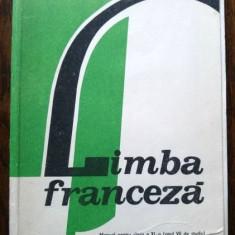 D - Manual limba franceza anul VII de studiu, clasa a XI-a din 1989 - Manual scolar, Clasa 11, Limbi straine