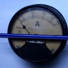 Un ampermetru f.rar german vechi de colectie peste 100ani functional