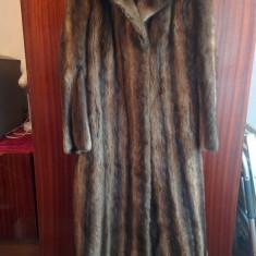 Haina din blana naturala de nurca marimea 40, este noua! - haina de blana