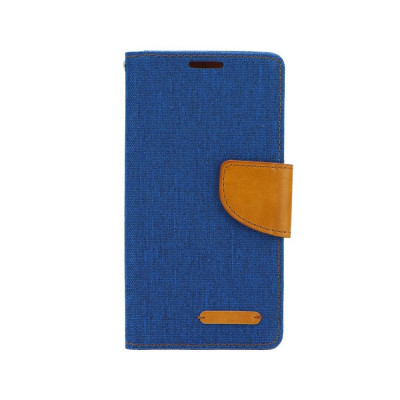 Husa Huawei P8 Lite Canvas Book Bleumarina foto