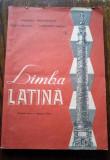D - Manual limba latina, clasa a VIII-a, Editura Didactica si Pedagogica 1990, Clasa 11, Limbi straine