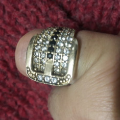 Inel din argint placat cu aur - Inel placate cu aur