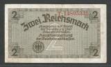 GERMANIA NAZISTA  2  MARCI MARK  1939 1940 1945  [8] Cu zvastica , P-R137b , VF+