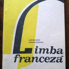 D - Manual limba franceza anul VI de studiu, clasa a X-a din 1985 - Manual scolar, Clasa 10, Limbi straine