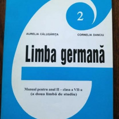 D - Manual limba germana, anul II, clasa a VII-a, 1999, a doua limba de studiu - Manual scolar, Clasa 11, Limbi straine