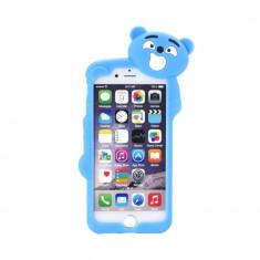 Husa Apple iPhone 6/6S 3D Urs Albastra - CM10412