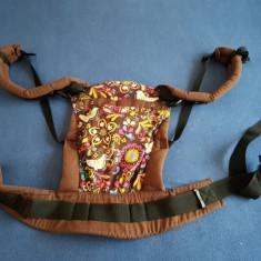 Marsupiu SSC Liliputi® Rainbow line - Folk-tale - Marsupiu bebelusi, Maro