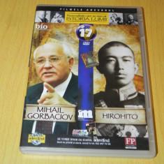 Dvd film Mihai Gorbaciov, Hirohito personalitati care au marcat istoria lumii 17 - Film animatie, Romana