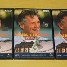 Lot 3 dvd Noua Europa a lui Michael Palin partile a, b, c documentare - Film animatie, Romana
